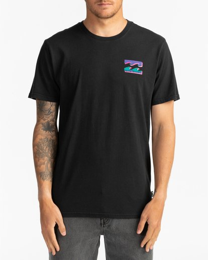 2 Warchild - T-Shirt für Herren Schwarz S1SS62BIP0 Billabong