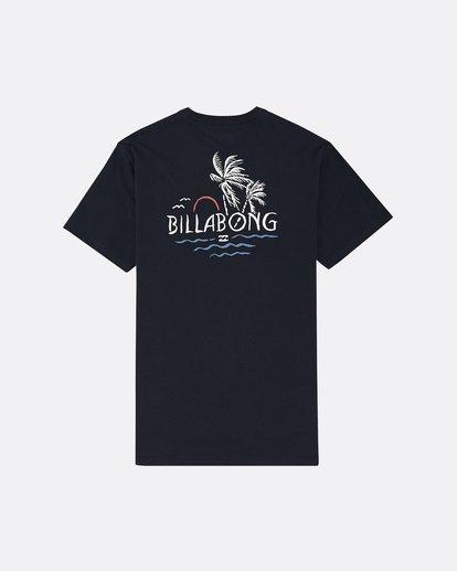 1 Social Club - Camiseta para Hombre Azul S1SS64BIP0 Billabong