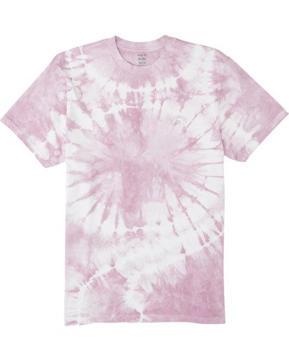3 Essential - Camiseta tie-dye para Hombre Violeta S1SS65BIP0 Billabong
