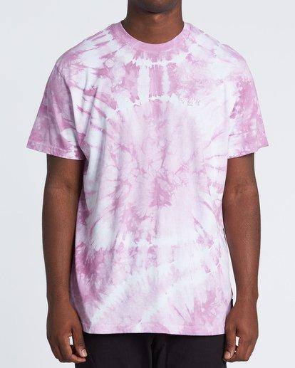 0 Essential - Camiseta tie-dye para Hombre Violeta S1SS65BIP0 Billabong