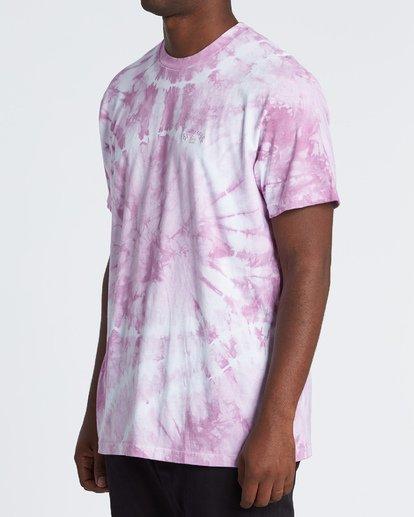 2 Essential - Camiseta tie-dye para Hombre Violeta S1SS65BIP0 Billabong