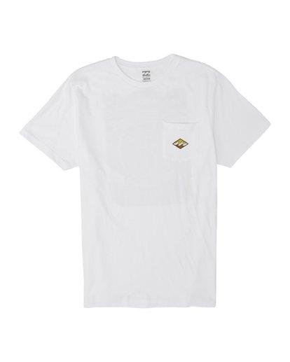 1 High Noon - T-Shirt für Herren Weiss S1SS68BIP0 Billabong