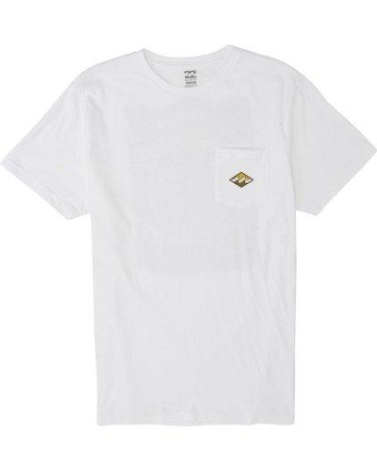 0 High Noon - T-Shirt für Herren Weiss S1SS68BIP0 Billabong