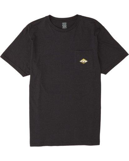3 High Noon - T-Shirt for Men Black S1SS68BIP0 Billabong