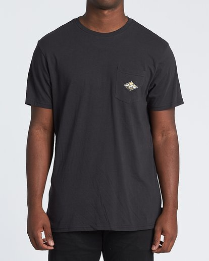1 High Noon - T-Shirt für Herren Schwarz S1SS68BIP0 Billabong
