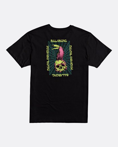 4 Paradise - T-Shirt for Men Black S1SS69BIP0 Billabong