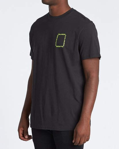 2 Paradise - T-Shirt für Herren Schwarz S1SS69BIP0 Billabong