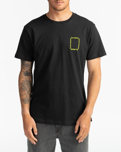 5 Paradise - T-Shirt for Men Black S1SS69BIP0 Billabong