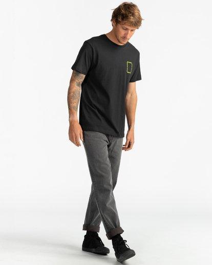 7 Paradise - T-Shirt for Men Black S1SS69BIP0 Billabong
