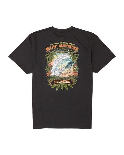 6 Pipe Master Tube - T-Shirt für Herren Schwarz S1SS72BIP0 Billabong