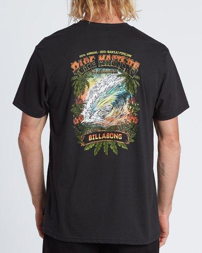 1 Pipe Master Tube - T-Shirt für Herren Schwarz S1SS72BIP0 Billabong