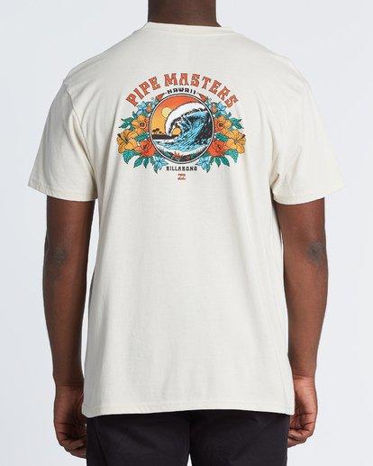 1 Pipe '19 - Camiseta para Hombre Marron S1SS73BIP0 Billabong