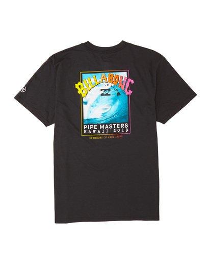 6 Pipe Masters - Camiseta para Hombre Negro S1SS74BIP0 Billabong