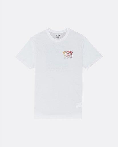 3 Pipe Masters - Maglietta da Uomo White S1SS74BIP0 Billabong
