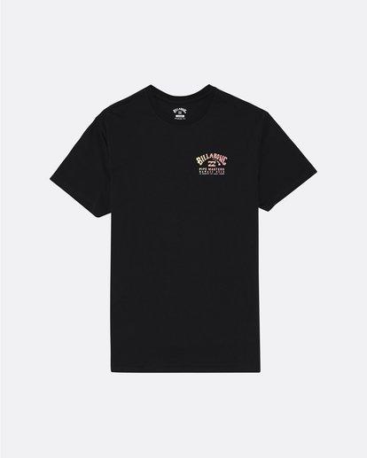 3 Pipe Masters - Camiseta para Hombre Negro S1SS74BIP0 Billabong