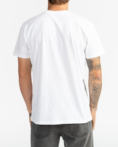 6 First Sight - Camiseta para Hombre Blanco S1SS75BIP0 Billabong