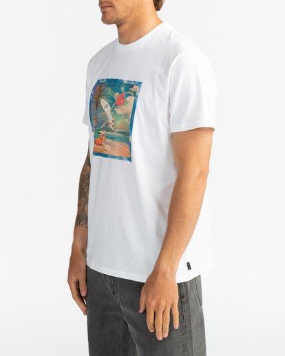 4 First Sight - T-Shirt für Herren Weiss S1SS75BIP0 Billabong