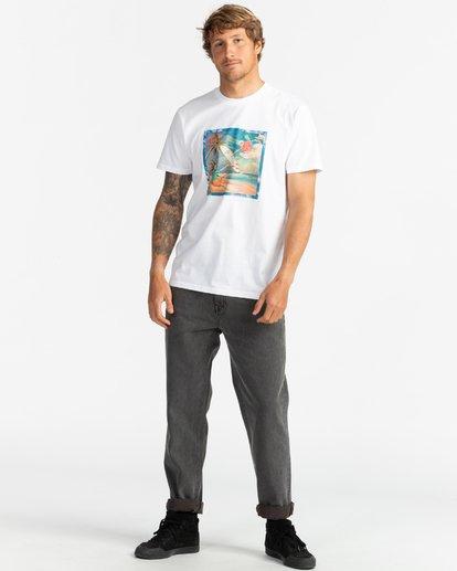 5 First Sight - T-Shirt für Herren Weiss S1SS75BIP0 Billabong