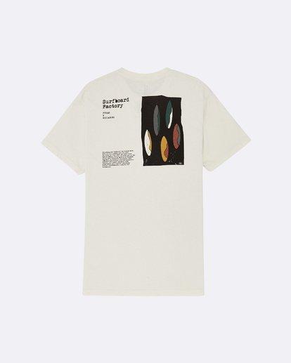 1 Pukas Surfboard Factory - Camiseta para Hombre Blanco S1SS91BIP0 Billabong