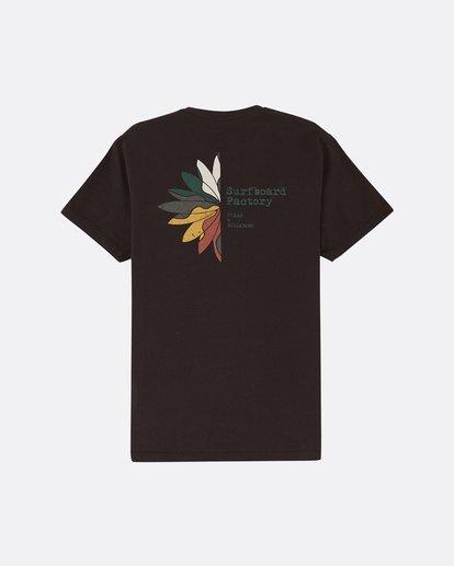 1 Pukas Surfboard Factory - Camiseta para Hombre Negro S1SS91BIP0 Billabong
