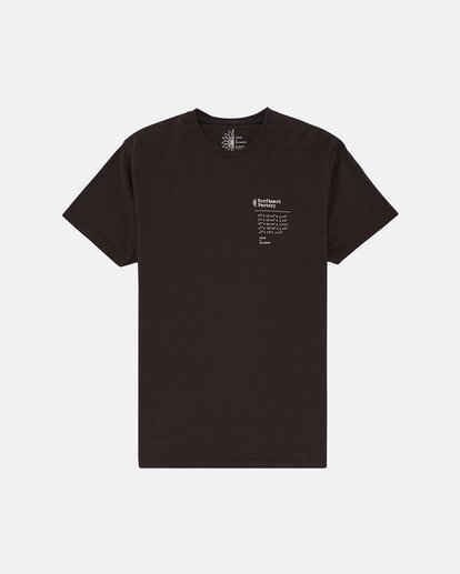 0 Pukas Surfboard Factory - Camiseta para Hombre Negro S1SS91BIP0 Billabong