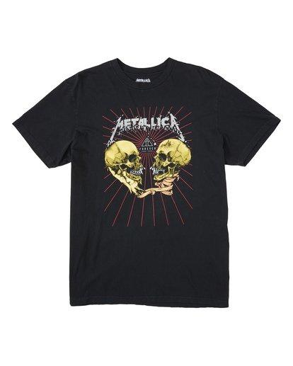 3 AI Metallica - Camiseta con estampado gráfico para Hombre Negro S1SS93BIP0 Billabong
