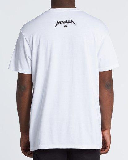 1 One - Camiseta con estampado gráfico para Hombre Blanco S1SS95BIP0 Billabong
