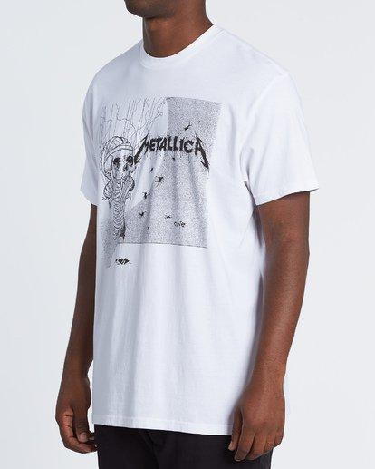 2 One - Camiseta con estampado gráfico para Hombre Blanco S1SS95BIP0 Billabong