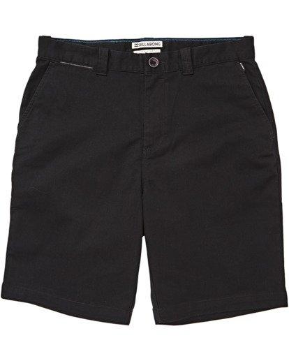 "4 Carter 21"" - Pantalones cortos para Hombre Negro S1WK04BIP0 Billabong"