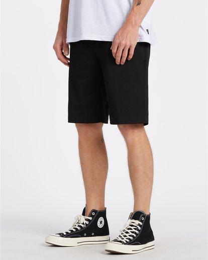 "2 Carter 21"" - Pantalones cortos para Hombre Negro S1WK04BIP0 Billabong"