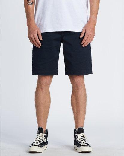 """0 Carter 21"""" - Shorts für Herren Blau S1WK04BIP0 Billabong"""