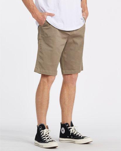 "3 Carter 21"" - Pantalones cortos para Hombre Verde S1WK04BIP0 Billabong"