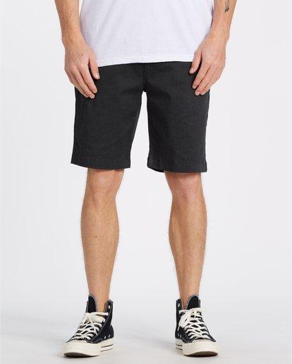 "0 Carter 21"" - Pantalones cortos para Hombre Negro S1WK04BIP0 Billabong"