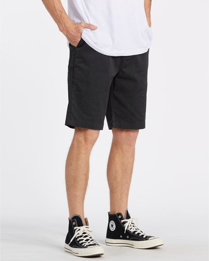 "3 Carter 21"" - Pantalones cortos para Hombre Negro S1WK04BIP0 Billabong"