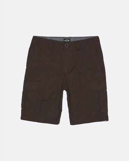 "0 Scheme Cargo 21"" - Pantalones cortos de camuflaje para Hombre Marron S1WK10BIP0 Billabong"