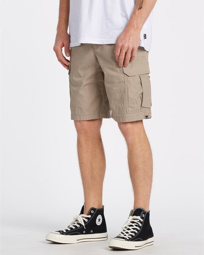 "2 Scheme Cargo 21"" - Pantalones cortos de camuflaje para Hombre Verde S1WK10BIP0 Billabong"