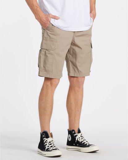 "3 Scheme Cargo 21"" - Pantalones cortos de camuflaje para Hombre Verde S1WK10BIP0 Billabong"