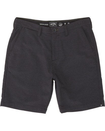 "3 Surftrek Wick 20"" - Performance Shorts für Herren Schwarz S1WK13BIP0 Billabong"