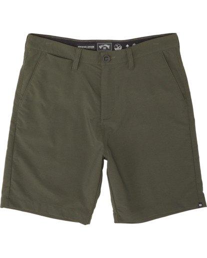 """4 Surftrek Wick 20"""" - Pantalones cortos de alto rendimiento para Hombre Camo S1WK13BIP0 Billabong"""