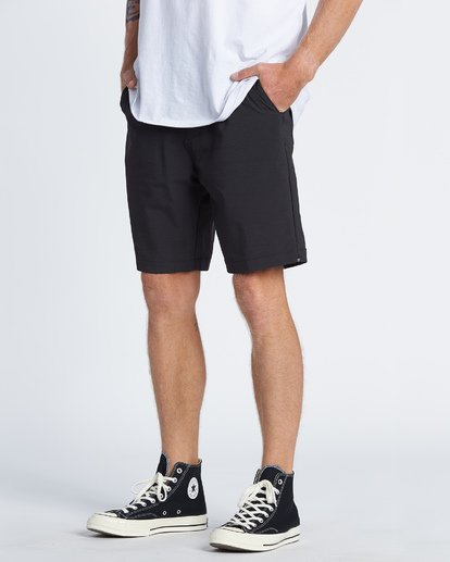 "2 Surftrek Wick 20"" - Performance Shorts für Herren Schwarz S1WK13BIP0 Billabong"