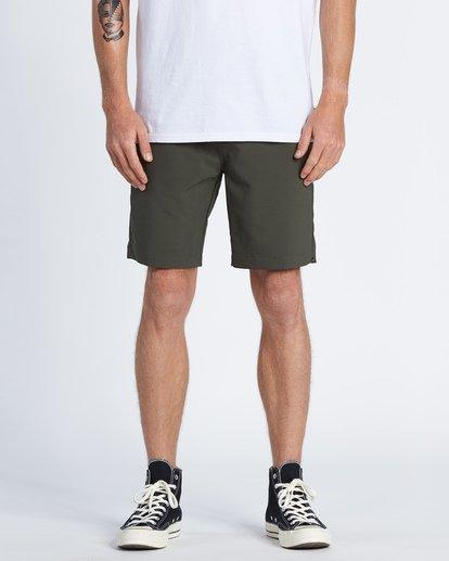 """0 Surftrek Wick 20"""" - Pantalones cortos de alto rendimiento para Hombre Camo S1WK13BIP0 Billabong"""