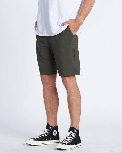 """2 Surftrek Wick 20"""" - Pantalones cortos de alto rendimiento para Hombre Camo S1WK13BIP0 Billabong"""