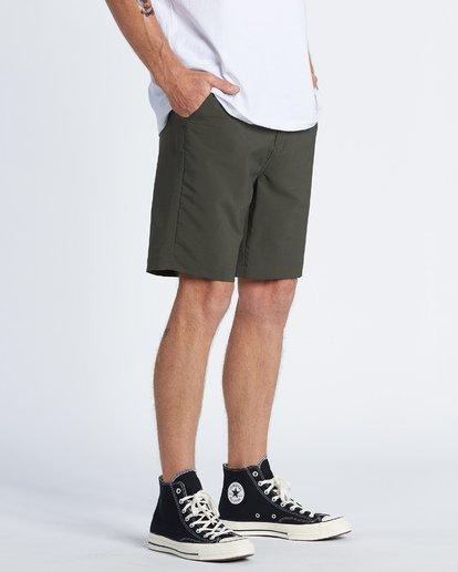 """3 Surftrek Wick 20"""" - Pantalones cortos de alto rendimiento para Hombre Camo S1WK13BIP0 Billabong"""
