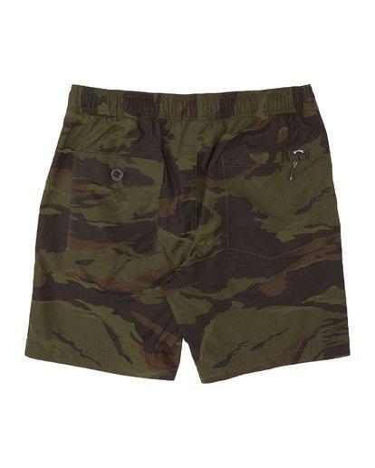 """4 Surtrek Perf 19"""" - Pantalones cortos de alto rendimiento para Hombre Camo S1WK14BIP0 Billabong"""
