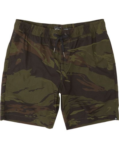 """3 Surtrek Perf 19"""" - Pantalones cortos de alto rendimiento para Hombre Camo S1WK14BIP0 Billabong"""