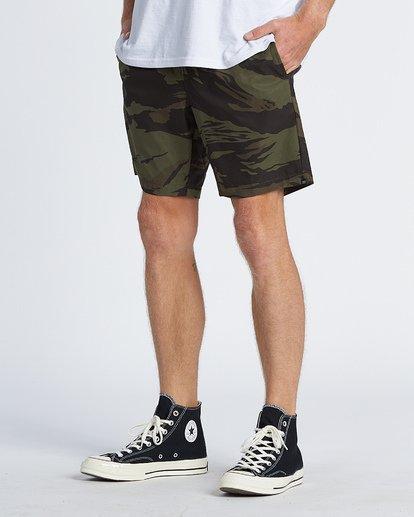 """2 Surtrek Perf 19"""" - Pantalones cortos de alto rendimiento para Hombre Camo S1WK14BIP0 Billabong"""