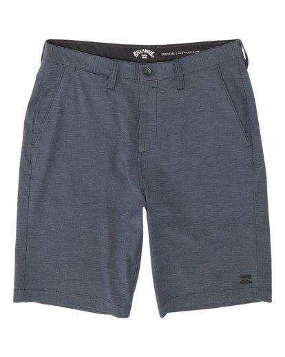 """4 Crossfire 21"""" - Pantalones cortos sumergibles para Hombre Azul S1WK19BIP0 Billabong"""