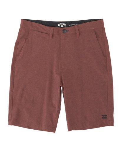 """3 Crossfire 21"""" - Pantalones cortos sumergibles para Hombre Rojo S1WK19BIP0 Billabong"""