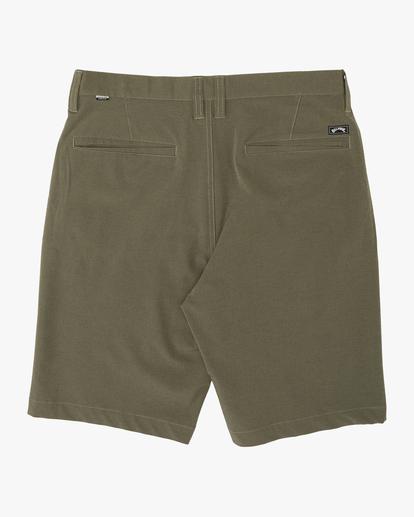 """4 Crossfire 21"""" - Pantalones cortos sumergibles para Hombre Camo S1WK19BIP0 Billabong"""
