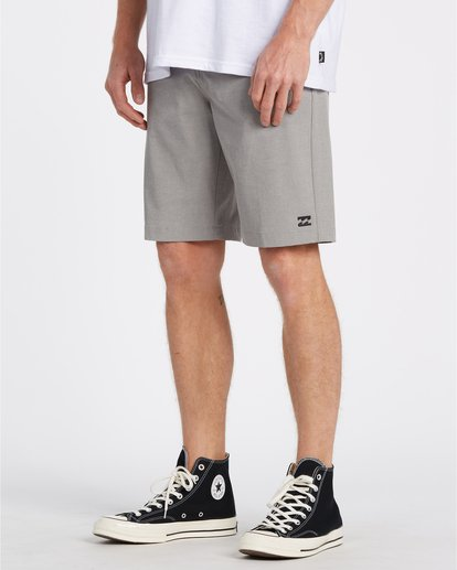 "2 Crossfire 21"" - Submersible Shorts für Herren Grau S1WK19BIP0 Billabong"